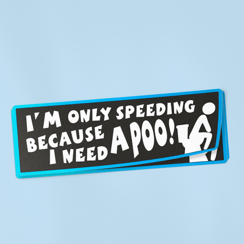 "Bumper Stickers (10"" x 2.5"")"