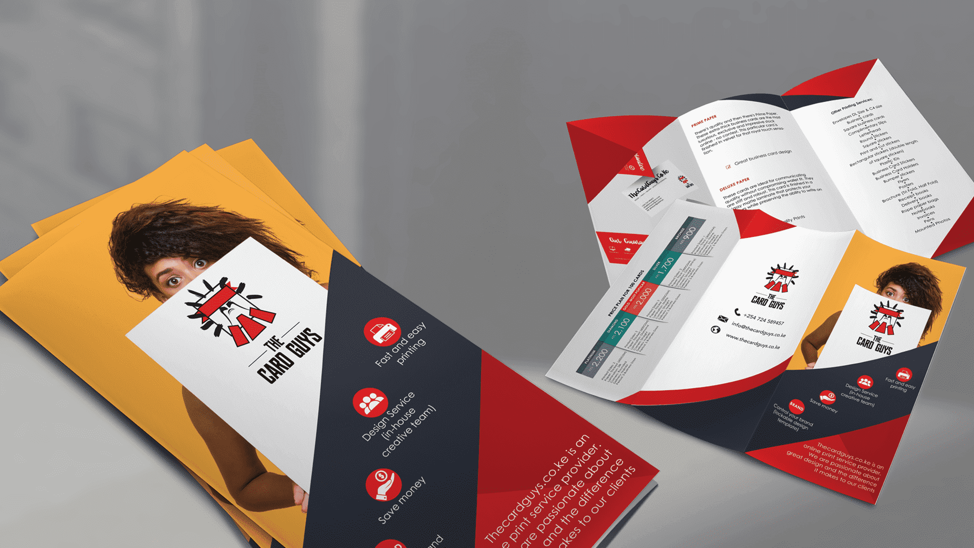 Print brochures in nairobi kenya the card guys reheart Image collections