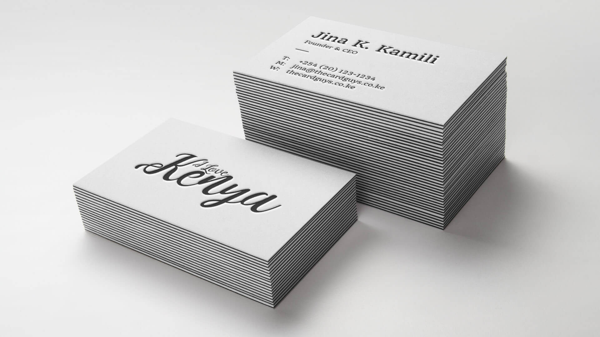 Print and design business cards online in nairobi kenya the card guys reheart Image collections